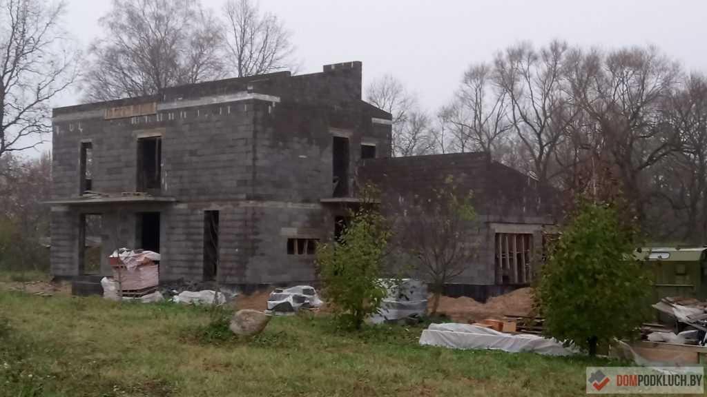 Фото дома из керамзитобетона