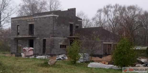 Строительство дома из керамзитбетонных блоков