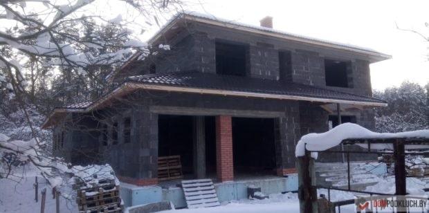 Строительство дома в Ждановичах