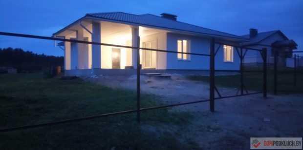 Строительство одноэтажного дома из газосиликатных блоков