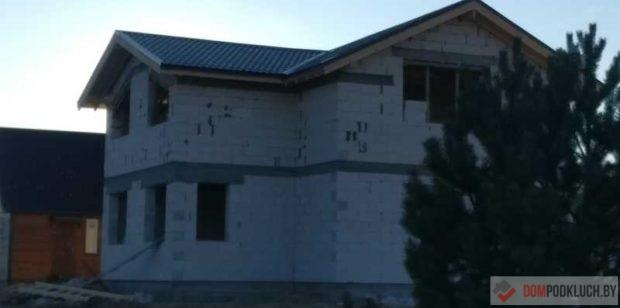 Дом из газосиликатных блоков с мансардным этажом