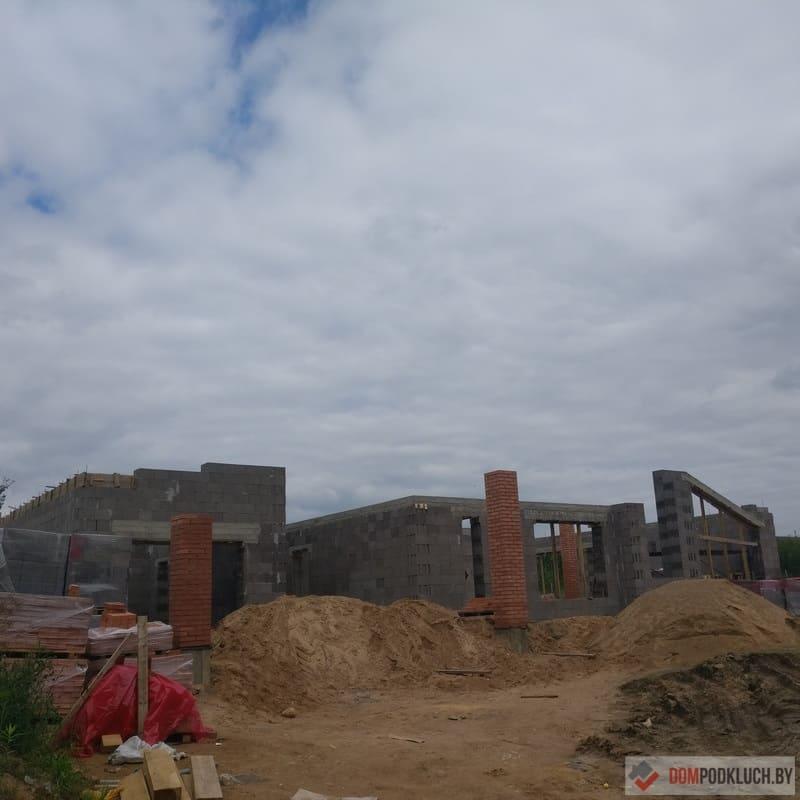 Возведение стен дома из керамзитобетона