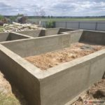 Строительство мелкозаглубленного ленточного фундамента под ключ