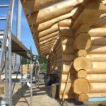 Строительство дома из рубленого бревна